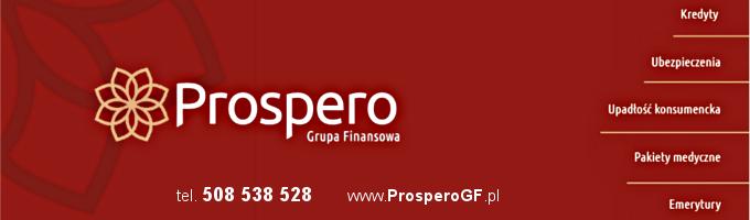 Prospero - Pod menu
