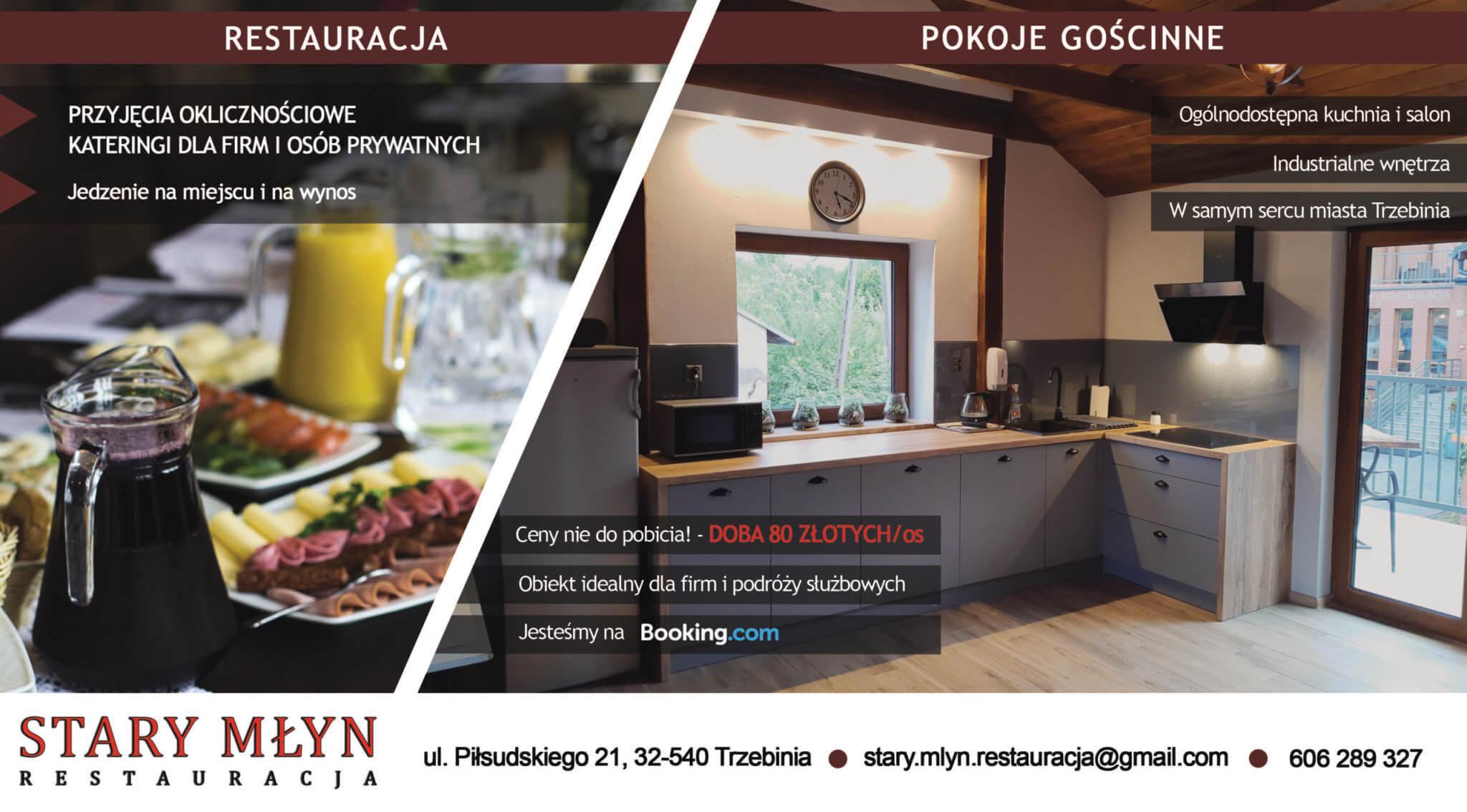 Restauracja Stary Młyn Trzebinia